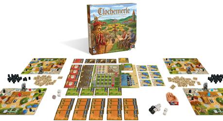 Présentation du jeu Clochemerle de chez Gigamic