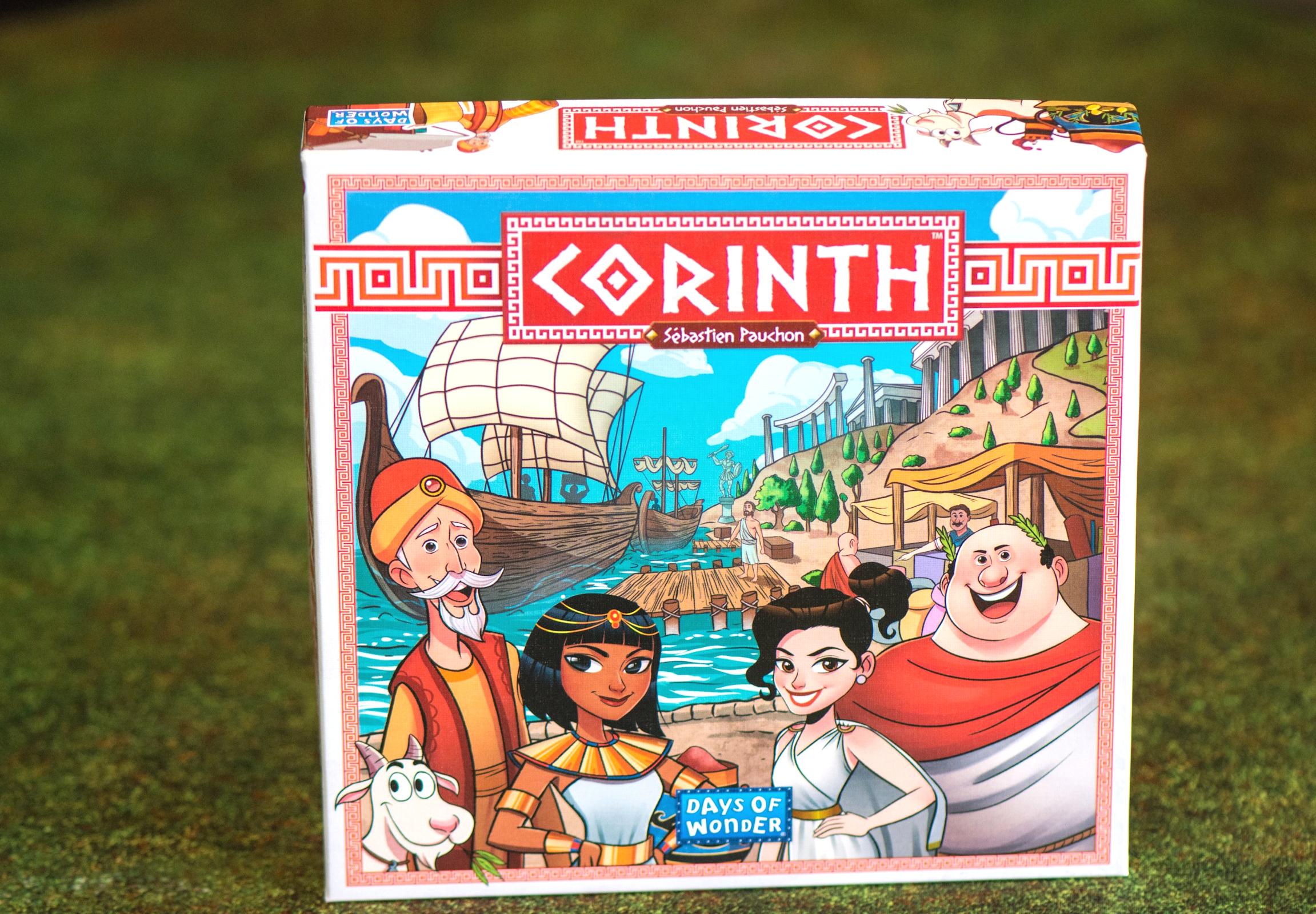 Corinthe-Days of Wonder-jeu de plateau