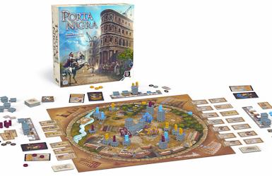 Présentation du jeu Porta Nigra de chez Gigamic